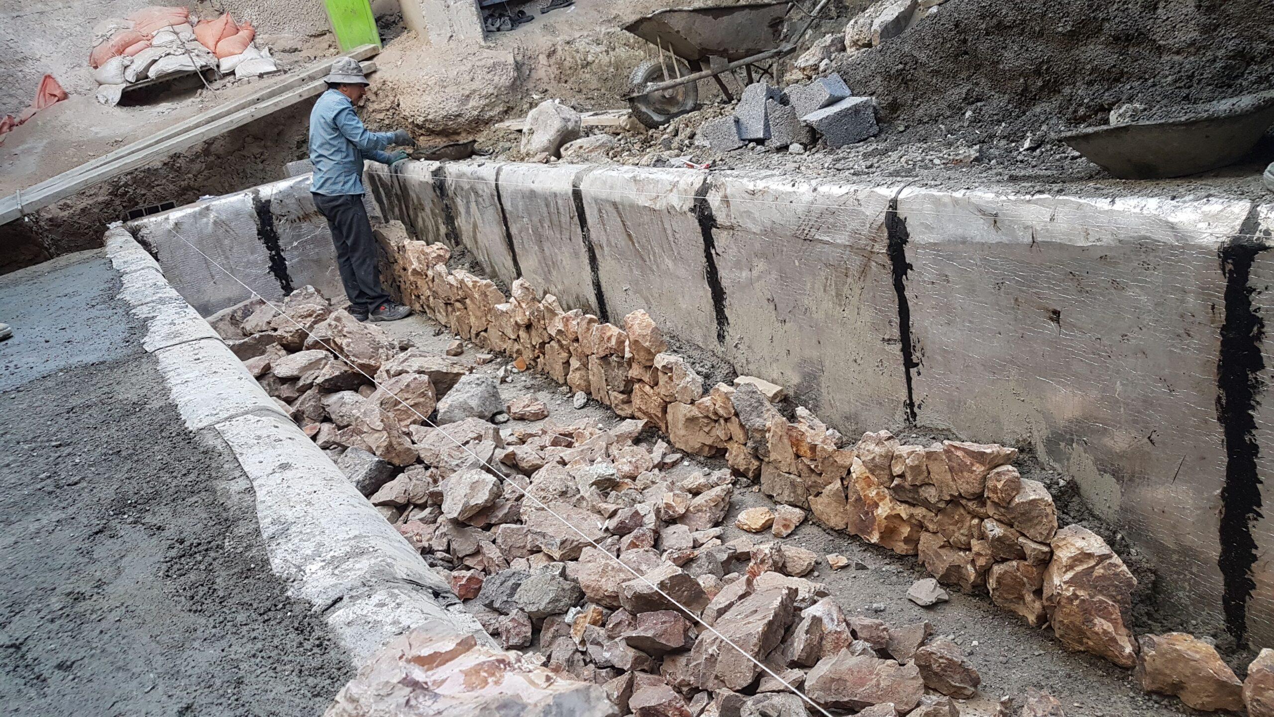 اموزش دیوار کشی