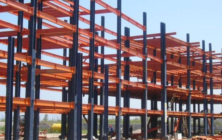 ابعاد استاندارد ستون بتنی و فلزی